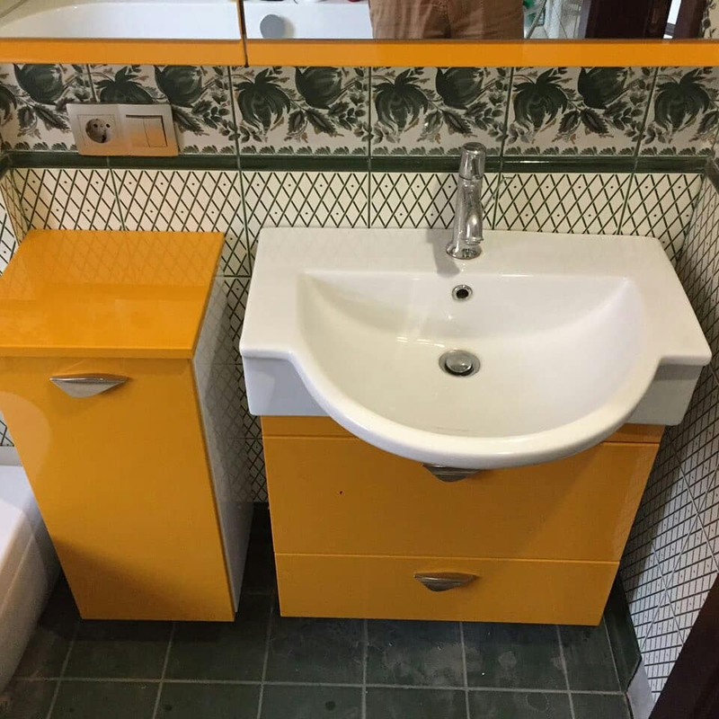 Мебель для ванной комнаты-Мебель для ванной «Модель 17»-фото1