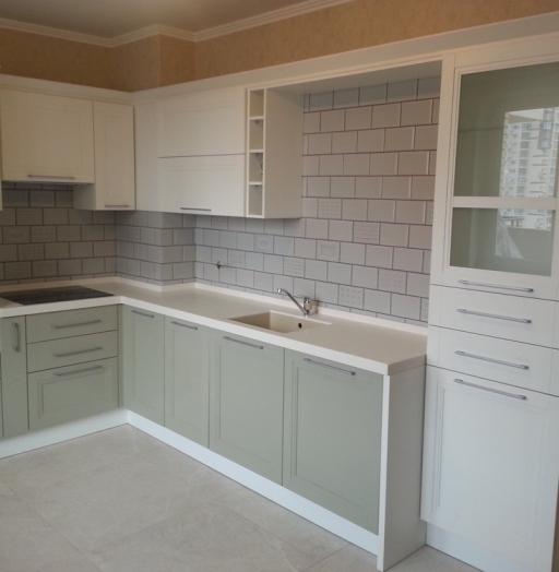 -Кухня МДФ в эмали «Модель 277»-фото17