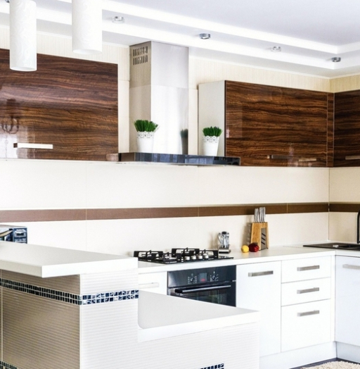 -Кухня из акрила «Модель 407»-фото29