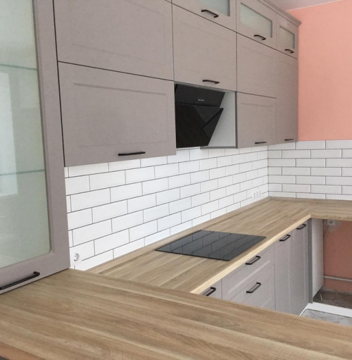 -Кухня МДФ в ПВХ «Модель 441»-фото9