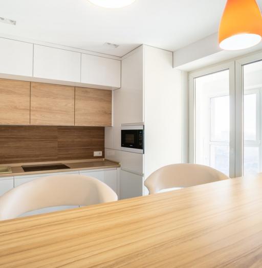 -Кухня МДФ в эмали «Модель 5»-фото1