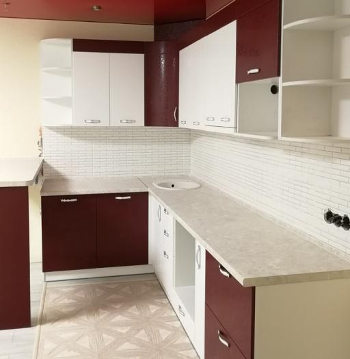 -Кухня МДФ в эмали «Модель 18»-фото19