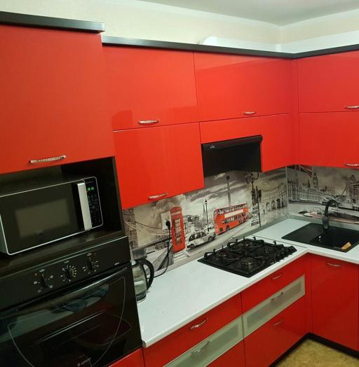 -Кухня из пластика «Модель 138»-фото15