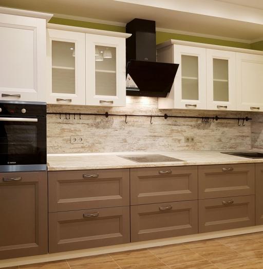-Кухня из шпона «Модель 25»-фото12